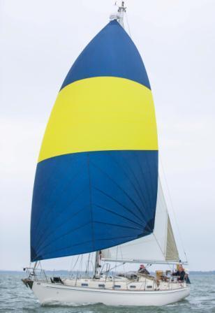 E-sails tri-radial cruising chute